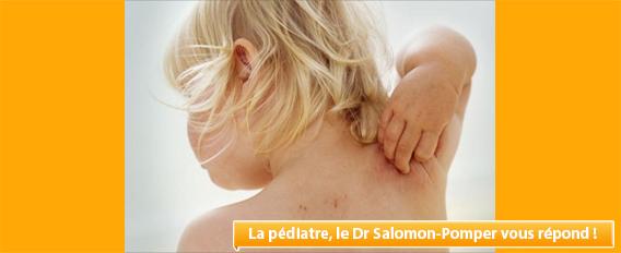 Eczéma, éruption cutanée chez l'enfant : IPLV ou allergie ?