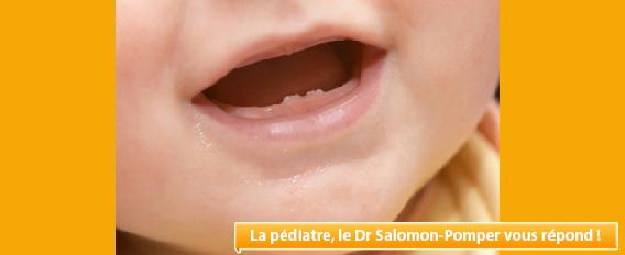 A 27 mois, les dents de bébé ne poussent pas ! Les explications de notre pédiatre !