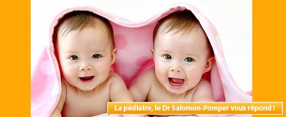 Notre Pédiatre vous répond : faut-il séparer des jumeaux ?