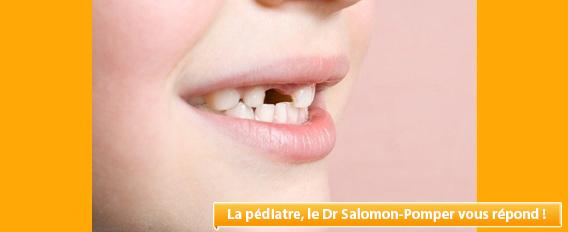 Dent de lait cassée : conséquence sur la dent définitive ?