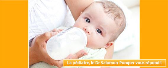 Le reflux gastroœsophagien, fréquent chez les nourrissons
