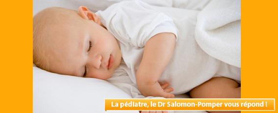 Troubles du sommeil et RGO à 13 mois : que faire ?
