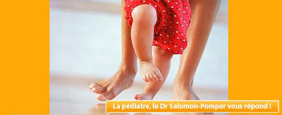 Fracture du fémur à 9 mois, quand est-ce que bébé marchera ?