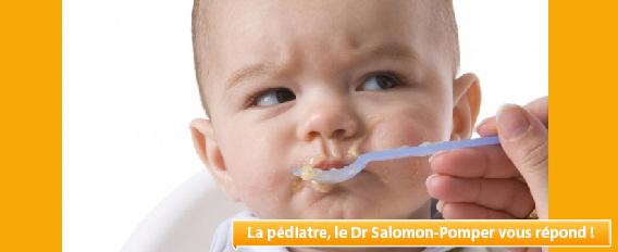 Mon bébé de 15 mois n'accepte plus que du lait, que faire ?