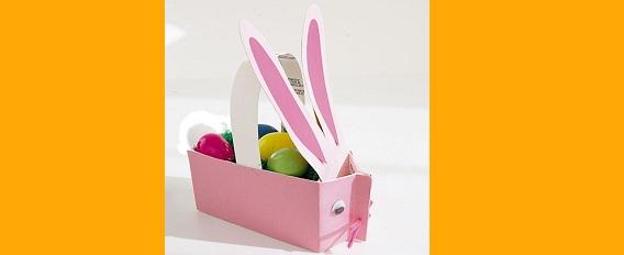 Comment faire un panier en papier pour paque voici un petit panier que ju vu sur un site de - Panier de paques a fabriquer ...