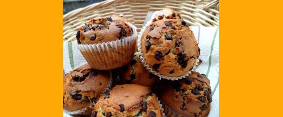 Recette des muffins aux pépites de chocolat facile pour les enfants