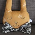 Découvrez le doudou mural tête de lapin de lilo bibelo