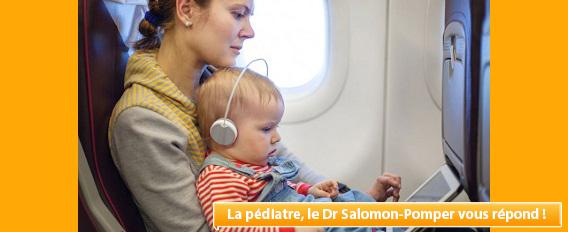 Peut-on voyager en avion avec un bébé ?
