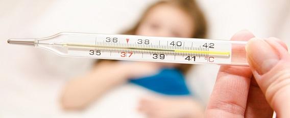La fièvre chez l'enfant : symptômes et traitements