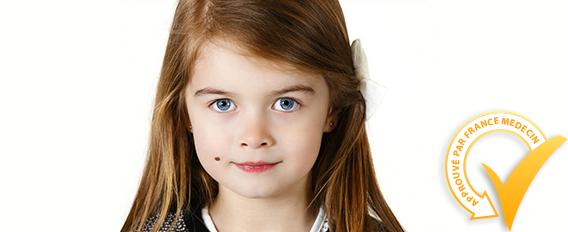 Les grains de beauté chez l'enfant