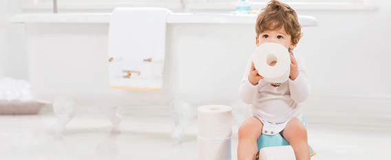A quel âge mettre bébé sur le pot
