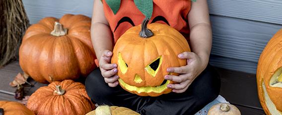 Idées DIY Halloween - citrouille