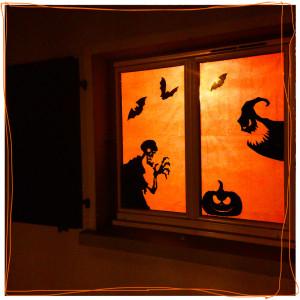 Vitrail DIY Halloween